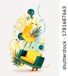 vector conceptual composition... | Shutterstock .eps vector #1781687663