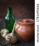 Rustic Still Life From A Clay...