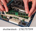 Installing Ram Modules In The...