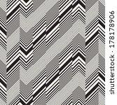 abstract broken striped... | Shutterstock . vector #178178906