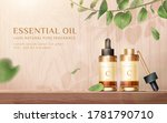 beauty product ad  concept of... | Shutterstock .eps vector #1781790710
