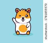 Cute Little Hamster Mascot...