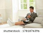 young asian business man... | Shutterstock . vector #1781876396