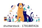veterinary clinic services ... | Shutterstock .eps vector #1781885426