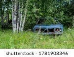 Old Car. An Abandoned ...