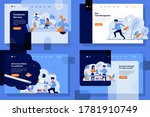 landing page vector... | Shutterstock .eps vector #1781910749