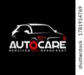 automotive auto care logo... | Shutterstock .eps vector #1781914769