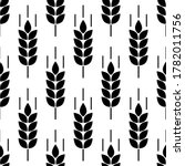wheat seamless pattern. bakery... | Shutterstock .eps vector #1782011756