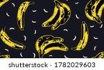 seamless banana andy warhol...
