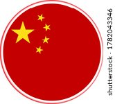 china official national red...   Shutterstock .eps vector #1782043346