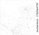 vector grunge black ink splat...   Shutterstock .eps vector #1782064799