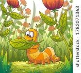 Little Caterpillar Eats A Leaf...