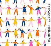 people holding hands  worldwide ...   Shutterstock .eps vector #1782093896