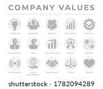 flat company core values icon... | Shutterstock .eps vector #1782094289