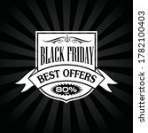 black friday banners sale ... | Shutterstock .eps vector #1782100403