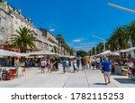 Split  Croatia   July 10  2020...