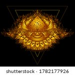 abstract decorative element in... | Shutterstock .eps vector #1782177926