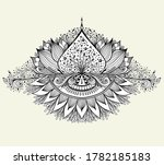 abstract decorative element in... | Shutterstock .eps vector #1782185183