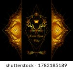 template of deign  of abstract... | Shutterstock .eps vector #1782185189