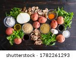 vegan lentil and mushroom...