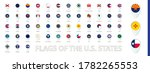 flags of the u.s. states sorted ... | Shutterstock .eps vector #1782265553
