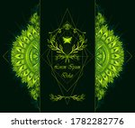 template of deign  of abstract... | Shutterstock .eps vector #1782282776