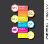 modern design template   can be ... | Shutterstock .eps vector #178230470