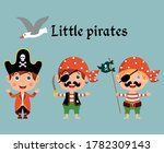 set of little pirates and... | Shutterstock .eps vector #1782309143