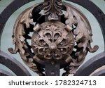 Forged Metal Decorative Rosett...