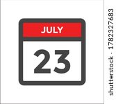red and black calendar icon w... | Shutterstock .eps vector #1782327683