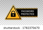 password protected icon. area... | Shutterstock .eps vector #1782370670