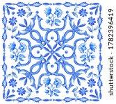 azulejos   portuguese tiles... | Shutterstock .eps vector #1782396419