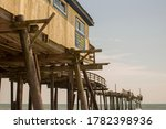 Destroyed Pier In Outer Banks...