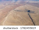 Aerial Photo Of Shiprock...