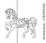 Carousel Horse  Merry Go Round...