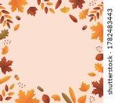 Autumn Leaf And Acorn...