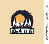 logo  camping logo element for... | Shutterstock .eps vector #1782502160
