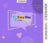 social media tutorial quick... | Shutterstock .eps vector #1782564839