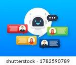 robot icon. bot sign design.... | Shutterstock .eps vector #1782590789