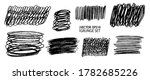 grunge pencil sketches set....   Shutterstock .eps vector #1782685226