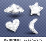 realistic cotton wool  clouds... | Shutterstock .eps vector #1782717140