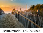Sunrise Glows At The Atlantic...