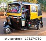 Постер, плакат: Indian auto rickshaw Auto