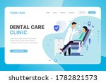 landing page template dental... | Shutterstock .eps vector #1782821573