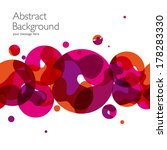abstract background with vector ... | Shutterstock .eps vector #178283330