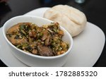A Plate Of Pounded Yam And...