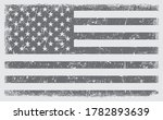 grunge black and white flag of... | Shutterstock .eps vector #1782893639