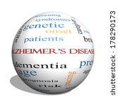 Alzheimer's Disease 3d Sphere...