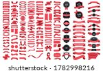 beautiful ribbons  tags and... | Shutterstock .eps vector #1782998216