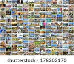 collection images used as a...   Shutterstock . vector #178302170